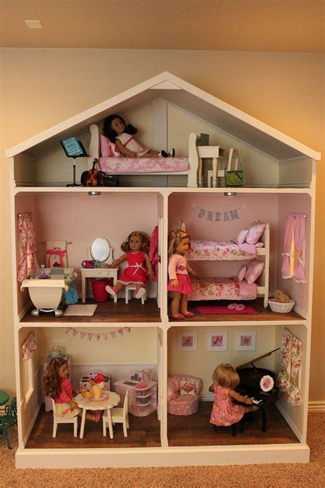 doll house floor plans doll house plans for american girl or 18 inch dolls 5