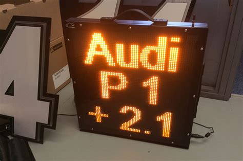 Deckenle Led by Led Number Board Deckle Edge