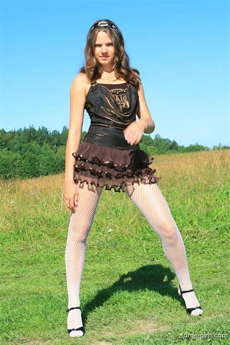 sandra teen model pantyhose search results for fame girl sandra orlow sets black