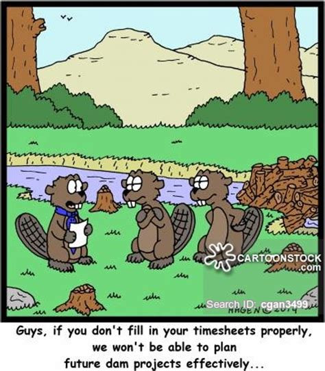 dam builders cartoons and comics funny pictures from