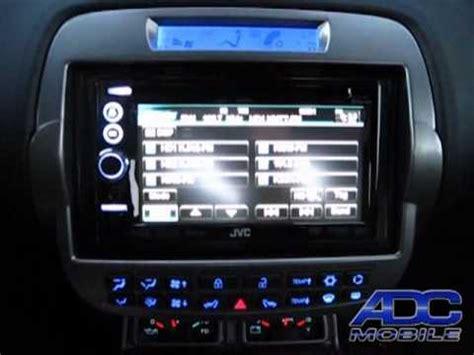 2011 chevy camaro with jvc kw nt3hdt & kenwood backup