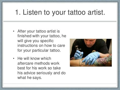 tattoo aftercare tips 9 aftercare tips