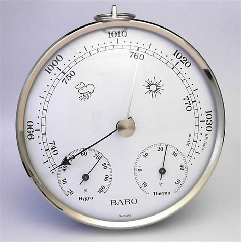 Analog Hygrometer White Large analogue hygrometers