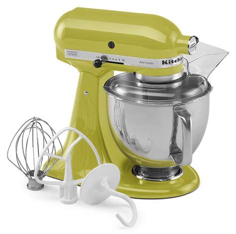 Sears Kitchen Aid by Kitchenaid Ksm150pspe Artisan 174 Series Pear 5 Qt Stand Mixer