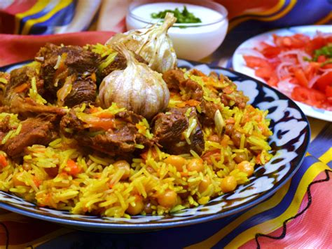 uzbek national food the national dish of uzbekistan tuy palovi wedding plov