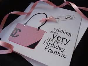 pink designer birthday card bag handmade cards pink posh