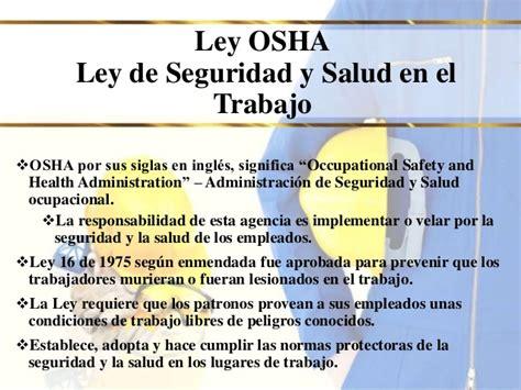 ley del trabajo en venezuela y la seguridad y salud laboral seguridad laboral