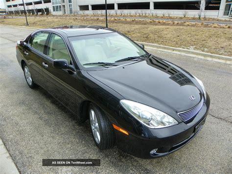 tan lexus 2005 lexus es 330 lather black on tan 4 door
