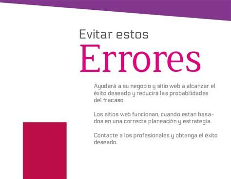 por qu 233 fracasan los sitios web de negocios