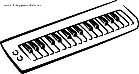 coloring page keyboard free coloring pages of keyboard