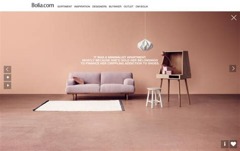 Best Furniture Websites by Bolia And Furniture Webdesign Inspiration