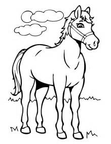 horse coloring book pages coloring