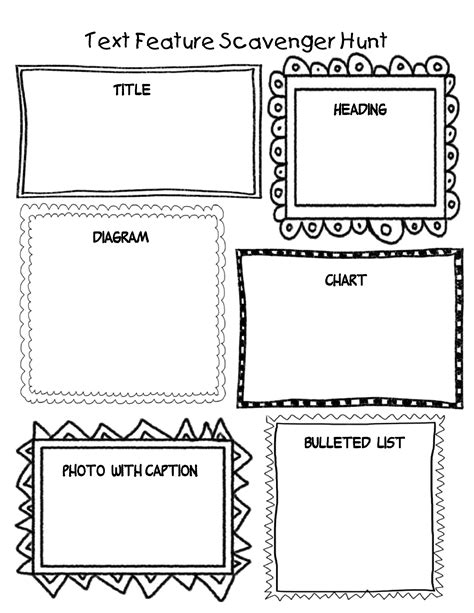 Text Features Worksheet 2nd Grade by Navigating Nonfiction Text In The Common Classroom