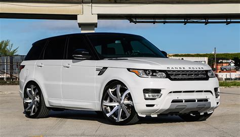 modified 2015 range rover custom range rover sport on forgiato wheels