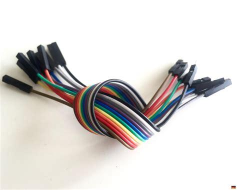 Kabel Jumper Dupont 10 Cm 20 Pin jumper wire kabel 10p 20cm steckbr 252 cken raspberry arduino