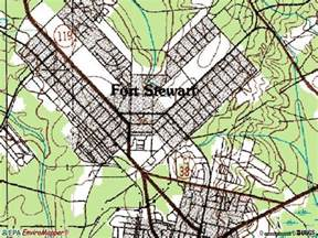 map of fort stewart fort stewart map