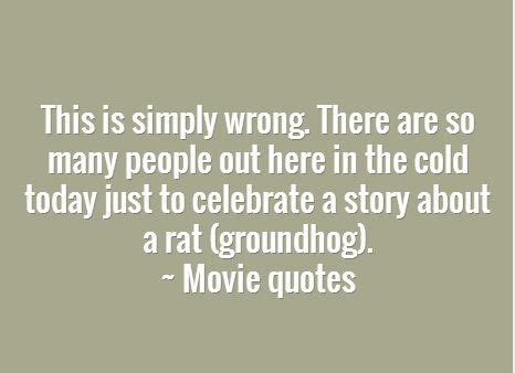 groundhog day quotes sayings the 1990 s groundhog day quotes check them
