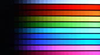 color differentiation test calibration displaymate hqv lg lm9600 55 inch cinema