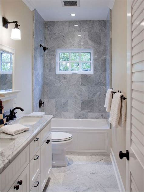 how to draw the narrow bathroom layout home