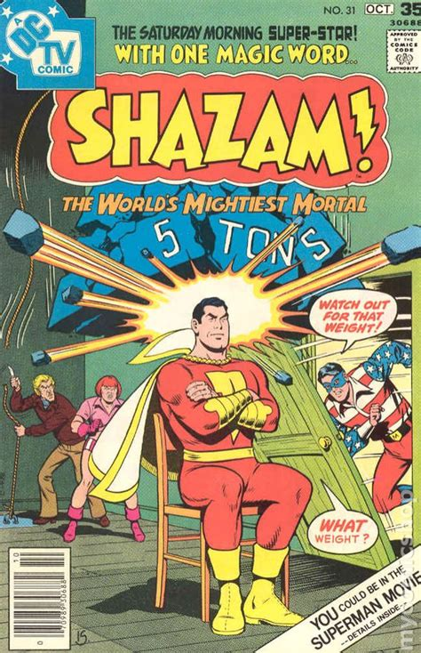 shazam  comic books
