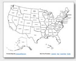 united states map without state names printable search