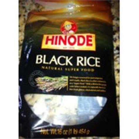 black rice calories hinode black rice calories nutrition analysis more