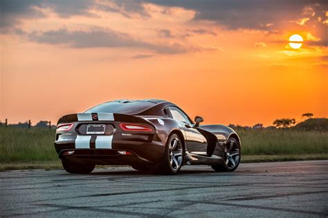 2011 dodge viper hennessey venom gt classic mini and porsche 911 for 50th anniversary
