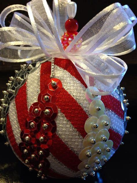 handmade sequin ornament  etsy  ornaments