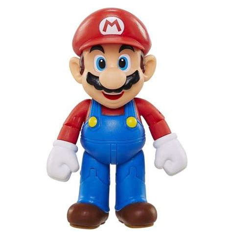 Figure Mario Bros world of nintendo mario series 1 mario 4