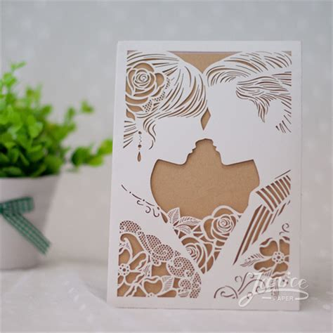 paper cutting wedding invitations sweethearts pocket laser cut wedding invitation wpl0053 wpl0053 1 47 wholesale