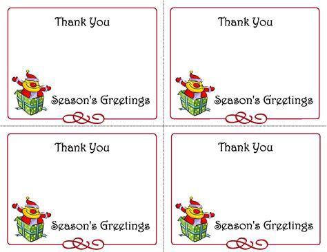 note card template word 2013 7 best images of thank you note template free
