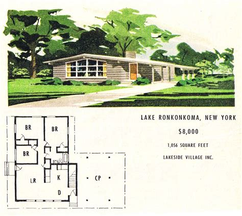 37 best images about mid century floor plans on
