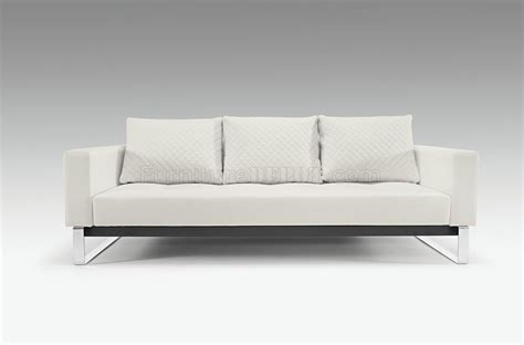 cassius deluxe white black camel sofa bed by innovation