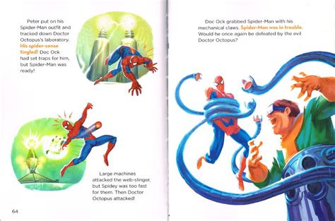 5 minute marvel stories 5 minute stories spiderfan org comics marvel spider read and listen