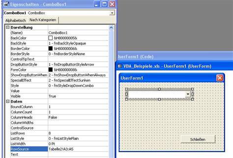 excel 2010 listbox tutorial excel vba combobox list rowsource vba tutorial create a