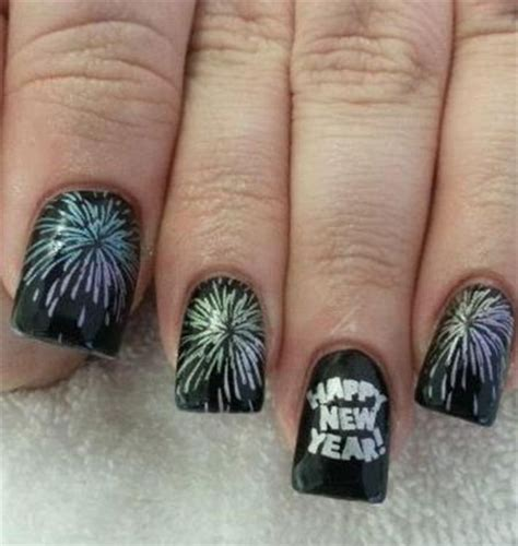 new year manicure design 2015 happy new year nail designs ideas 2014 2015 girlshue