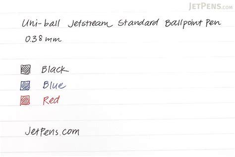 Pen Standard Ae 7 0 5 Mm uni jetstream standard ballpoint pen 0 38 mm black ink