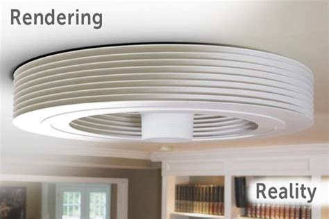 exhale ceiling fan this exhale bladeless ceiling fan is inspired from tesla
