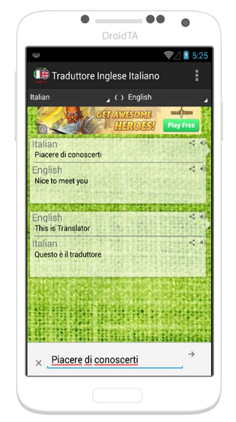 traduci inglese italiano testo traduttore italiano inglese android apps on play