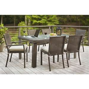 square tile piece patio dining set patio dining furniture patio furniture the home depot fall river