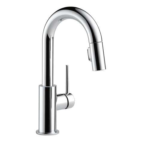 delta bar sink faucet delta faucets single handle trinsic bar prep sink faucet