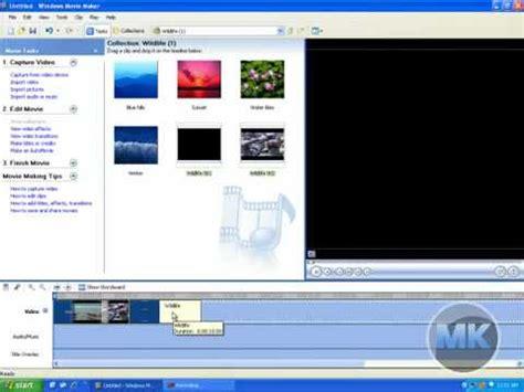 automovie themes movie maker windows xp movie maker make a video or movie using