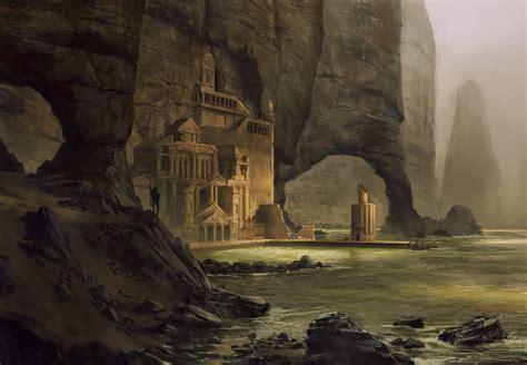 atlantean haven hd wallpaper background image
