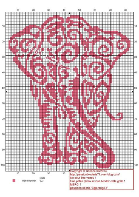 tribal pattern handstitched tribal elephant elephant cross stitch and patterns on