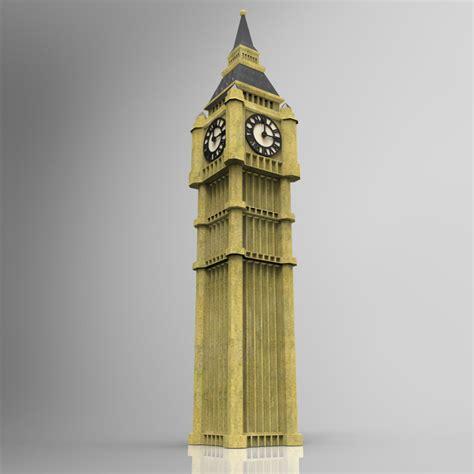 Big Ben Papercraft - big ben diy 3d three dimensional puzzle 3d paper models