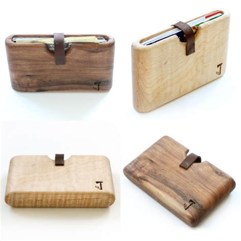 Handmade Wooden Items - handmade wooden wallets interfob