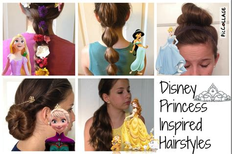 Disney Princess Hairstyle by Disney Princess Inspired Hairstyles