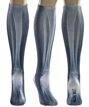 x socks realistic foot and leg bone socks are creepy