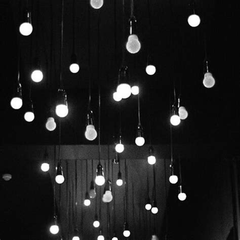 a few exposed bulbs, or half broken fixtures, would be a