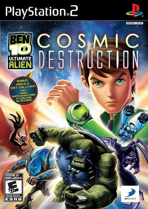 Cd Playstation Buku Ps 2 Ben 10 ben 10 ultimate cosmic playstation 2